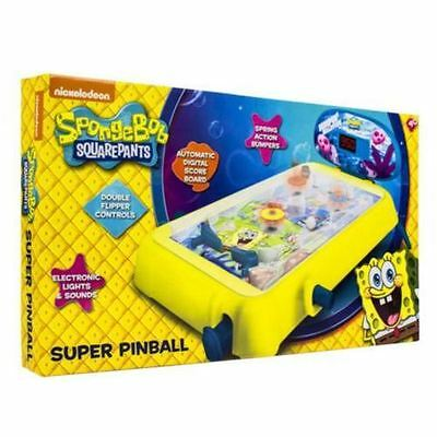 Sambro Nickelodeon Sponge Bob Squarepants Super Pinball Childs Toy Ages 4+