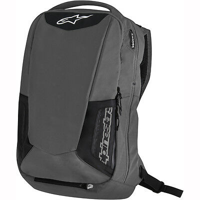 Motorcycle Alpinestars City Hunter Backpack 25L - Black/Grey UK Seller