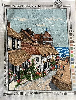 Fab Completed Tapestry  Lynmouth The craft Collection Ltd design Upcycle