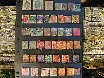 victorian and kg 6th commonwealth stamps