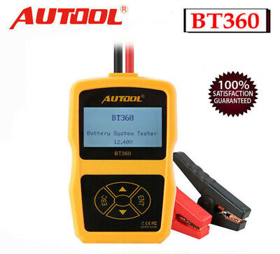New Autool BT-360 12V Car GEL Battery System Tester Charging Tester Analyzer AU