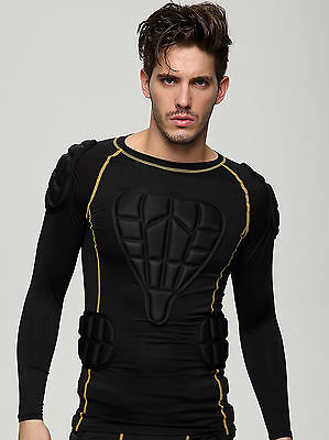 Sports Impact Protection Body Armour padding top for Skiing & snowboarding