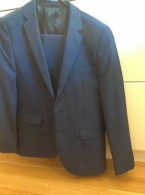 Next Uk Boys Blue Suit Age 13