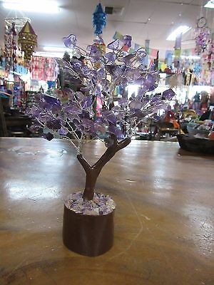 Amethyst Crystal Tree 21 cm Tall Reiki Metaphysical Feng Shui