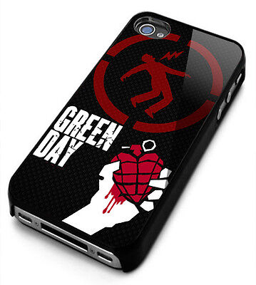 Green Day Rock B Logo for iphone 4/4S/5/5S/5C/6/6S/6plus/7/7s Plus Cover Case