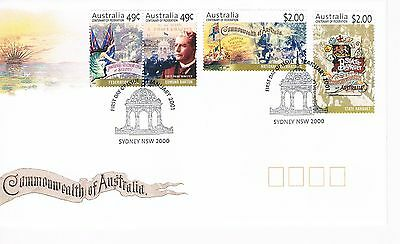 Australian Decimal Stamp First Day Cover (FDC) - Centenary of Federation - 2001