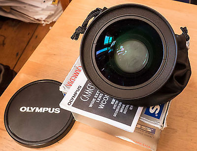 Olympus WCON-08B 0.8X Wide Angle Adapter Converter Lense 62mm thread