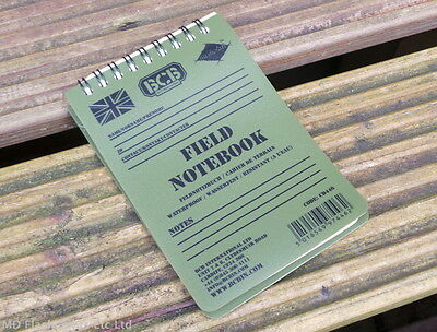 Bcb Waterproof Field Notebook & Pencil Bushcraft Survival Notepad Edc Military