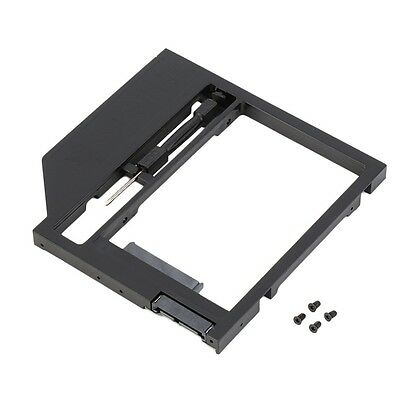 2nd HDD Caddy Hard Drive Disk SATA Case with Screwdriver For Laptop PC BZ