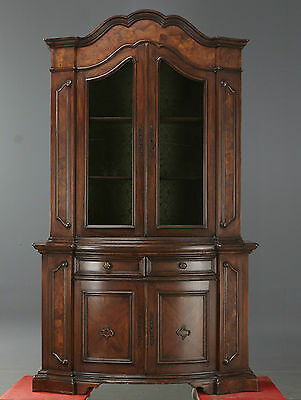 19th Century Mahogany  rococo Style Large Display cabinets