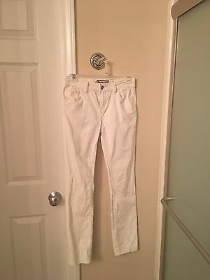 Girls Pants Corduroy, Off White, Old Navy, Size 12