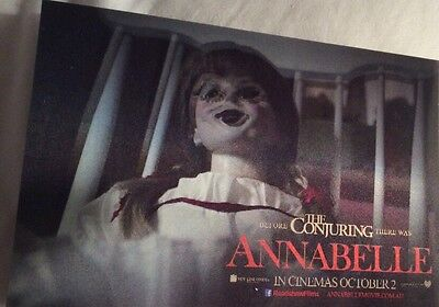 3D POSTCARD ONLY Before The Conjuring There Was... 'Annabelle'