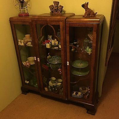 1940s display cabinet