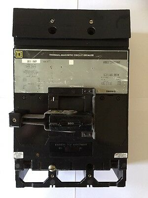 Square D Smal3800 800Amp 3Pole Mccb Incoming Outgoing Mccb