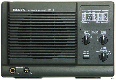 Yaesu SP 8 External Speaker FOR MOST CURRENT MODELS (INCLUDES AUDIO FILTERS)