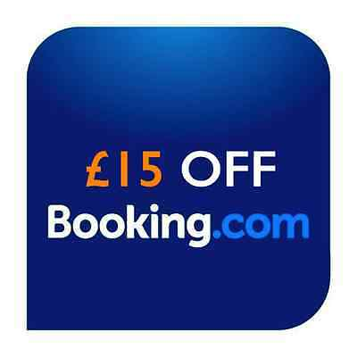 £15 Off Any Holidays Hotels Villas Booked Via Booking.com