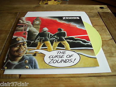 ZOUNDZ the curse of zounds lp yellow vinyl new and in stock