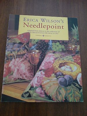 Beautiful Erica Wilson Book Needlepoint Tapestry V& A