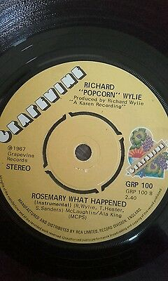 ROSEMARY WHAT HAPPENED voc and instr  ... GRAPEVINE. Northern Soul