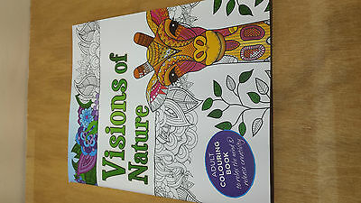 Visions of Nature - Adult Colouring Book Relax Creative