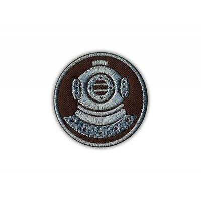 Diver (brown-silver) PATCH/BADGE