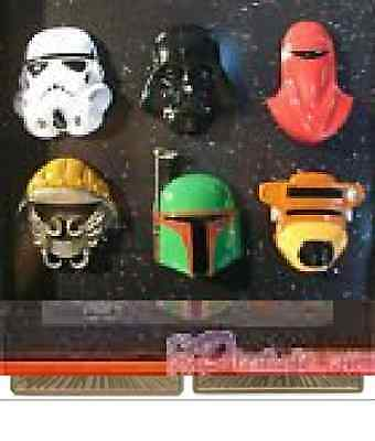 NEW Disney Star Wars Weekend 2015 the Gathering Helmet Pin Collection NIB