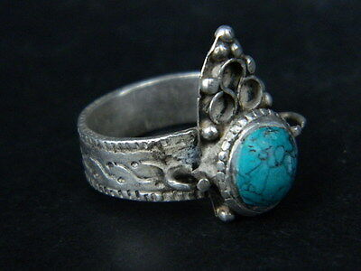 Antique Silver Ring With Stone Post Medieval 1800 AD     #STC471 • CAD $25.40