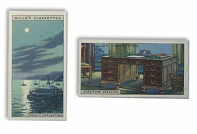 Wills illustrated cigarette cards 'Do You Know' series No's 21 and 39