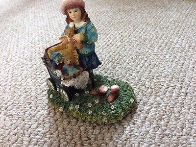 The old pram Christine Haworth Paintbox Poppets by Leonardo Collection