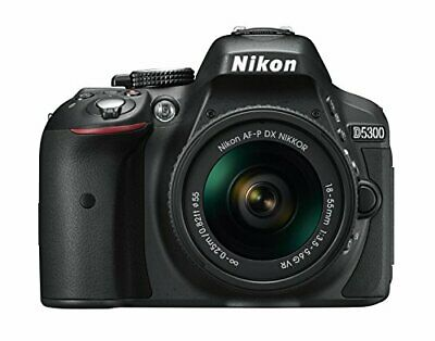 Nikon D5300 Digital SLR Camera 24.2 MP W/ AF-P 18-55mm VR Lens!! BRAND NEW!!