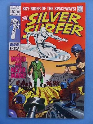 Silver Surfer 10 1969 Lovely!!