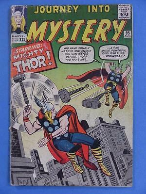 Thor Journey Into Mystery 95 1963 Kirby Ditko Back Up!
