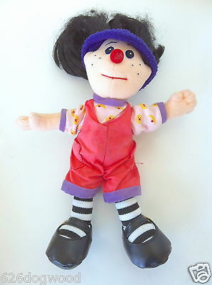 """The Big Comfy Couch mini 9"""" Loonette PBS Canada TV 1995 Soft Plush Doll Dolly"""