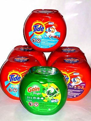 Tide Pods NEW Spring Meadow Scent 42 Count 3-in-1 laundry pack (Free Shipping)
