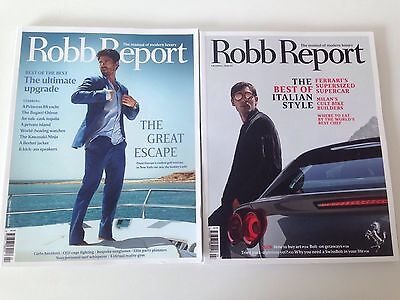 Robb Report UK, Issue 2 and 3