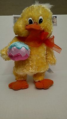 "Quacking ""Singing and Dancing"" Plush Easter Duck - Kids of America"