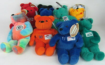 1999 NFL SALVINO'S BAMMERS - 12  Beanie Bears  Elway Favre Manning Aikman Rice
