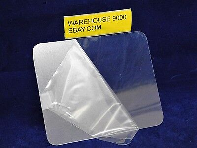 "5"" x 6"" Replacement Sandblasting Lens for Heavy Duty Canvas Sandblasting Hoods"
