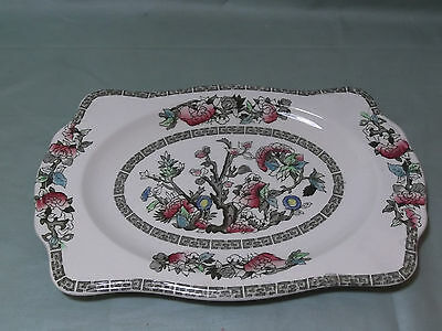 "Johnson Bros. ""Indian Tree"" Oblong Sandwich Tray"