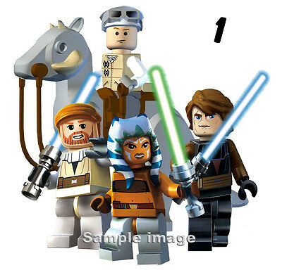 LEGO STAR WARS wall stickers (24 PRE-CUT images available in 2 sizes)  DISCOUNTS