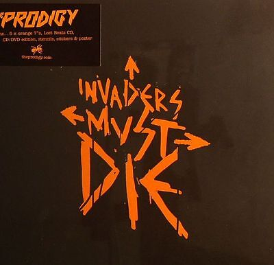"PRODIGY, The - Invaders Must Die - Vinyl (7"" box)"