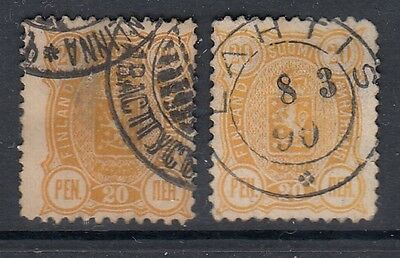 Early Finland Stamps