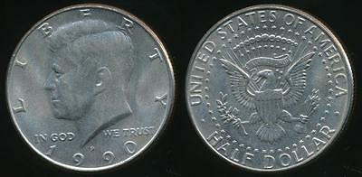 United States, 1990-P Half Dollar, Kennedy - Uncirculated