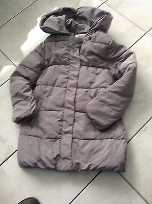 zara girls fawn coat age 9/10
