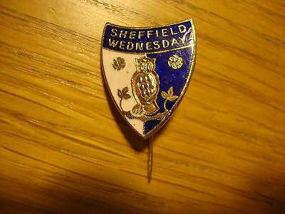 Old Sheffield Wednesday Football Badge Pin