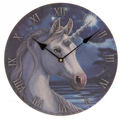 Lisa Parker Unicorn Picture Clock Fantasy Gift Mythical