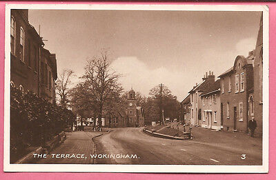 The Terrace, Wokingham, Berkshire postcard. Real Photo. R.A. Series.