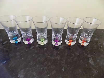 6  Shot Glasses (Holland And America)