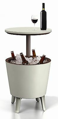 Keter Cool Bar Garden Part Drinks Cooler Storage and Cocktail Table
