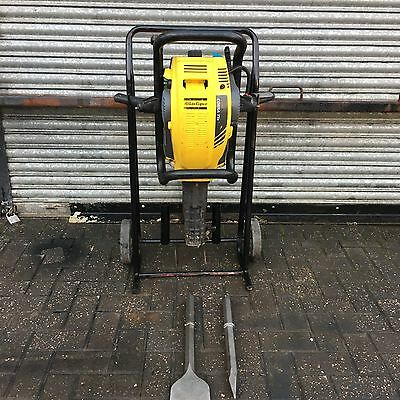 ATLAS COPCO COBRA  PROe  PETROL  BREAKER  Yr. 2016 C/W Trolly And 2x New Chisels